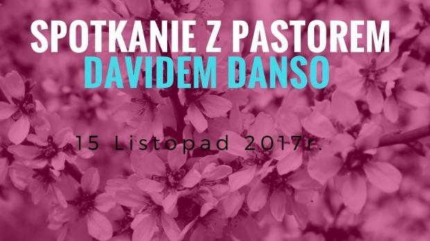 spotkanie z pastorem Davidem Danso